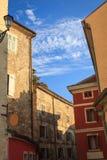 Переулок в Хорватии Стоковое фото RF