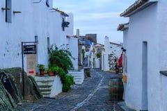 Переулок в Monsaraz Стоковые Изображения