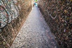 Переулок жевательной резинки Стоковые Изображения RF