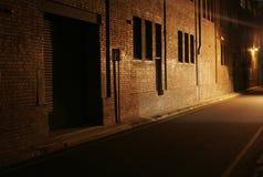 переулок загадочный Стоковые Изображения