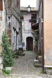 Переулок исторического центра Стоковое Фото