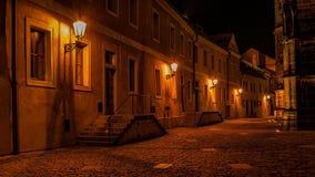 Переулок на замке Праги Стоковое Фото