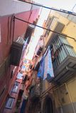 Переулок, Неаполь Стоковое Изображение