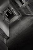 переулок пустой Стоковая Фотография
