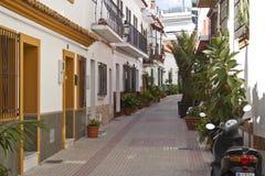 переулок среднеземноморской Стоковая Фотография RF