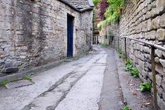 переулок старый Стоковое Фото