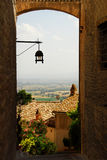 переулок Тоскана Стоковые Изображения RF