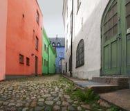 переулок цветастый Стоковое Изображение RF