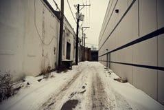 переулок стоковые фотографии rf