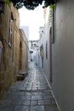 переулок Стоковое Изображение