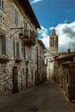 Переулок Assisi Стоковая Фотография