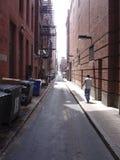 переулок boston Стоковое Фото