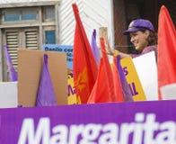 переуступите республике маргариты o повелительницы dominican первой стоковое фото