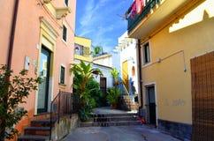 Переулки Acicastello Стоковые Фото