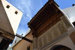 Переулки Fez, Марокко Стоковая Фотография RF