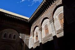Переулки Fez, Марокко Стоковое фото RF