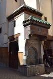 Переулки Fez, Марокко Стоковые Изображения