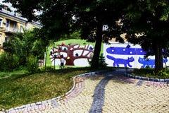 Переулок ландшафта Стоковая Фотография RF
