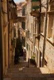 Переулок в Дубровнике Стоковое Изображение RF