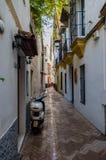 Переулок в Севилье Стоковые Изображения