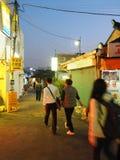 Переулок в Сеуле стоковые изображения