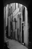 Переулок в Флоренсе, Италии Стоковые Изображения