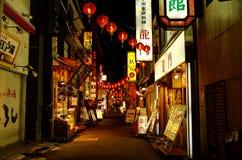 Переулок городка Китая Стоковое Изображение RF