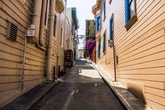 Переулок, Сан-Франциско Стоковое Изображение RF