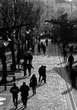 Переулок Стоковое Изображение RF