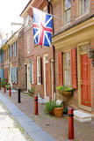 Переулок Elfreths Стоковое Фото