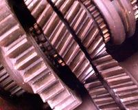 переходы шестерен коробки Стоковые Фотографии RF