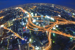 переход городов bangkok Стоковая Фотография RF
