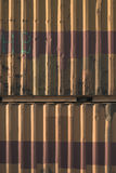 переход металла контейнера Стоковое Фото