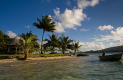 переход острова Стоковые Изображения