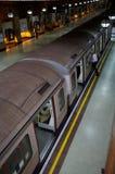 переход поезда london подземный Стоковое Фото