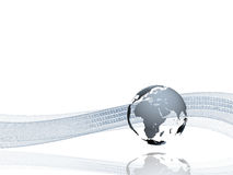 переход internetional данных Стоковая Фотография RF