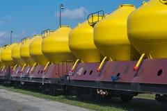Переход железнодорожных перевозок Стоковые Изображения RF