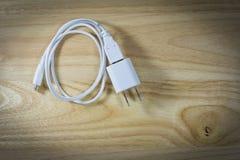 Переходник силы кабеля USB Стоковые Изображения RF
