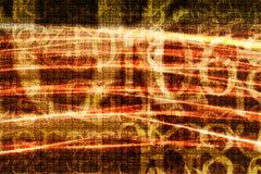 переход номеров Стоковые Фотографии RF
