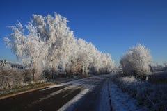 Переходный люк 1920 зимы Стоковое Фото