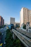 Переход рельса Чунцина городской Стоковые Фото