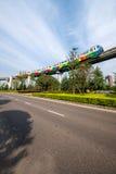 Переход рельса Чунцина городской Стоковая Фотография RF