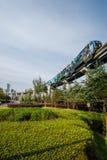 Переход рельса Чунцина городской Стоковое Фото