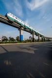 Переход рельса Чунцина городской Стоковая Фотография