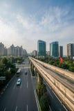 Переход рельса Чунцина городской Стоковое фото RF