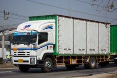 Переход тележки и трейлера PPL контейнера Isuzu FTZ240 логистический Стоковое Изображение RF