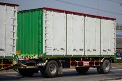 Переход тележки и трейлера PPL контейнера Isuzu FTZ240 логистический Стоковая Фотография RF