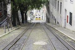 Переход трамваев Стоковые Фото