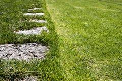 Переход лужайки Стоковое Изображение RF