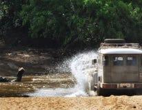 Переход через реку на Yala Стоковое фото RF